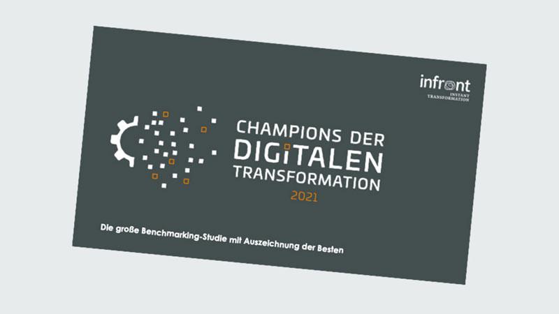 """Visual der Studie """"Champions der Digitalen Transformation 2021"""""""